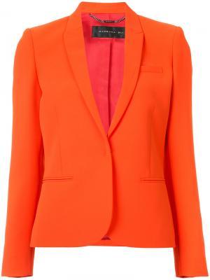 Приталенный пиджак Barbara Bui. Цвет: красный