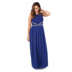 Платье длинное LOVEDROBE. Цвет: синий морской