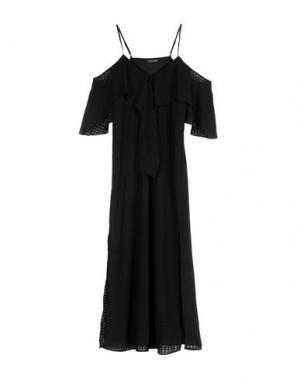 Длинное платье THE FIFTH LABEL. Цвет: черный