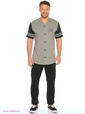 Рубашка VANS. Цвет: серый