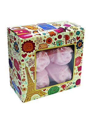 Spa by Lara Соль шипучая Роза чайная 160 г. Цвет: розовый, сиреневый