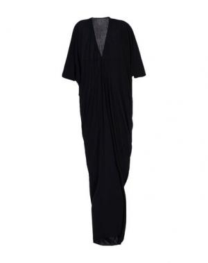 Длинное платье RICK OWENS LILIES. Цвет: черный
