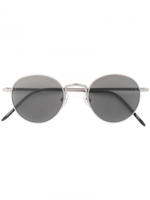 Солнцезащитные очки Gentle Monster. Цвет: металлический