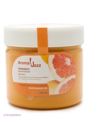 Твердое масло Грейпфрут, 300 мл АРОМАДЖАЗ. Цвет: оранжевый