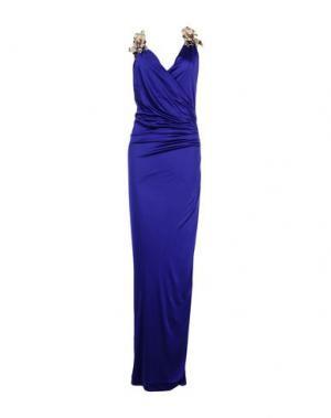 Длинное платье DSQUARED2. Цвет: фиолетовый