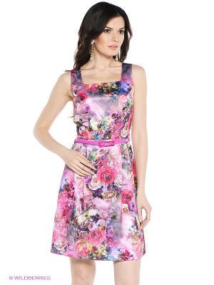 Платье VENUSITA. Цвет: розовый