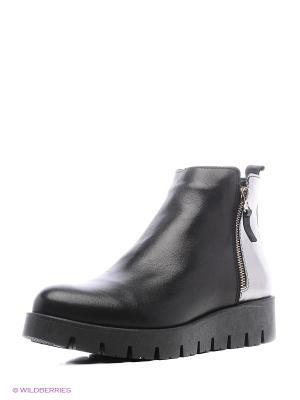 Ботинки Goergo. Цвет: черный, серебристый