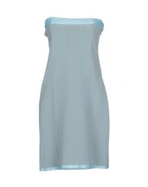 Короткое платье WETPAINT. Цвет: небесно-голубой