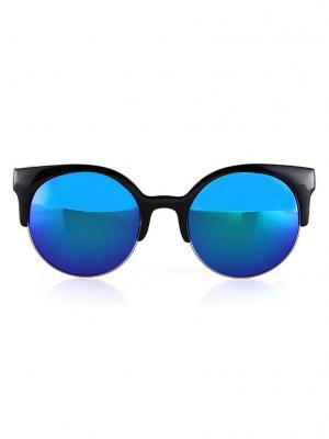 Солнцезащитные очки Leya.. Цвет: черный, синий