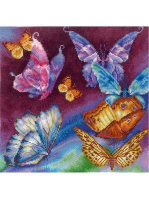 Набор для творчества Радужные бабочки Сделай своими руками. Цвет: белый