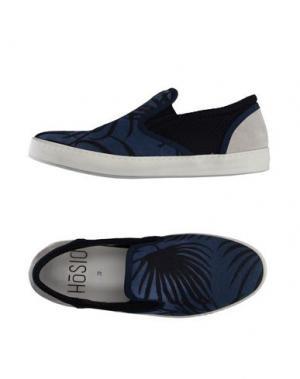 Низкие кеды и кроссовки HŌSIO. Цвет: темно-синий
