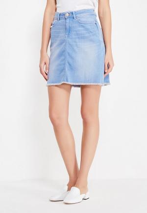 Юбка джинсовая H.I.S. Цвет: голубой