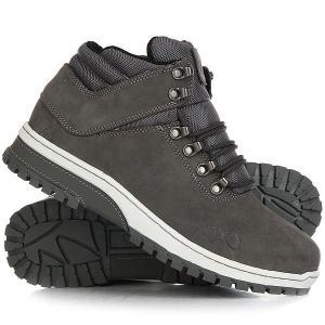 Ботинки высокие  H1ke Territory Grey K1X. Цвет: серый