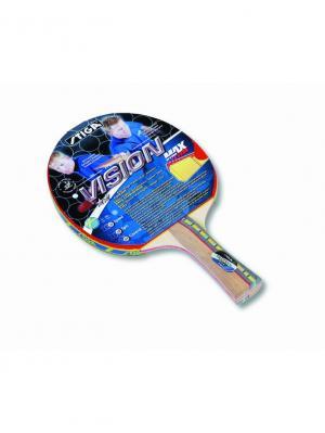 Ракетка для настольного тенниса VISION MAX ITTF (1634-01) Stiga. Цвет: красный