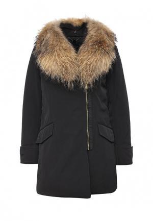 Куртка утепленная Pennyblack. Цвет: черный