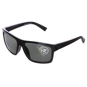 Очки  Speedtuck Black Gloss/Grey Von Zipper. Цвет: черный