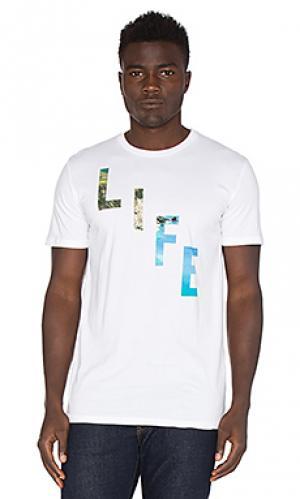 Футболка x life bias Altru. Цвет: белый