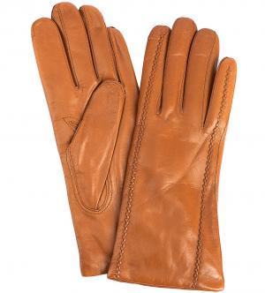 Перчатки Bartoc. Цвет: коричневый