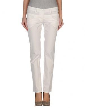 Повседневные брюки L'AIR DE RIEN. Цвет: белый