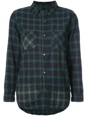 Plaid shirt NSF. Цвет: зелёный