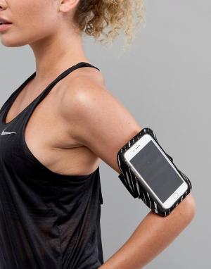 Nike Повязка на руку Running Flash Lean. Цвет: черный