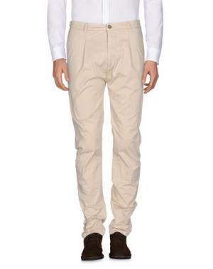 Повседневные брюки VIRTUS PALESTRE. Цвет: бежевый