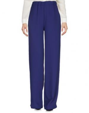 Повседневные брюки SUOLI. Цвет: темно-синий