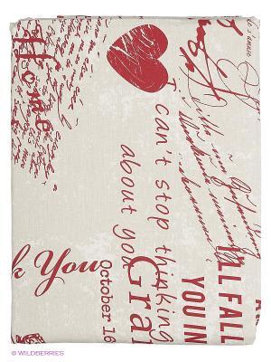 Комплект постельного белья Французское утро Волшебная ночь. Цвет: бежевый, красный