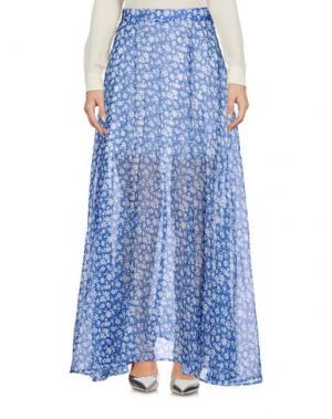 Длинная юбка CUTIE. Цвет: синий