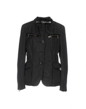 Куртка CALVARESI. Цвет: черный