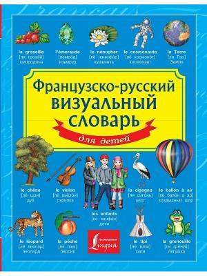 Французско-русский визуальный словарь для детей Издательство АСТ. Цвет: белый