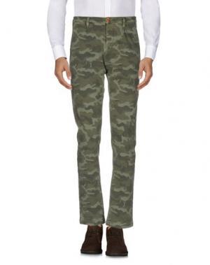 Повседневные брюки FRADI. Цвет: зеленый