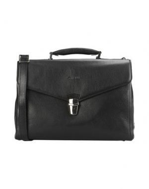 Деловые сумки GIUDI. Цвет: черный