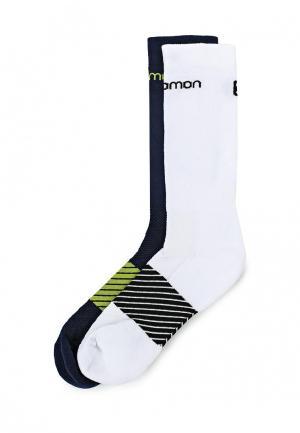 Комплект носков 2 пары Salomon. Цвет: разноцветный