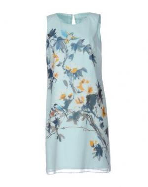 Короткое платье XANDRES. Цвет: светло-зеленый