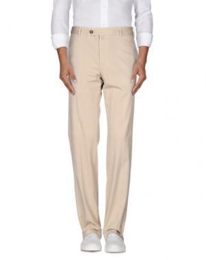 Повседневные брюки EREDI RIDELLI. Цвет: бежевый