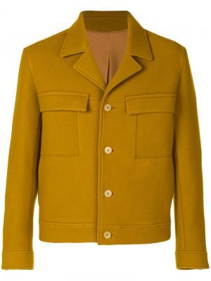 Пиджак Bastille Qasimi. Цвет: жёлтый и оранжевый