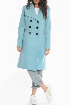 Пальто Moda di Chiara. Цвет: синий