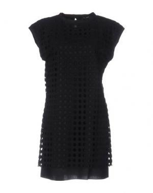 Короткое платье TARA JARMON. Цвет: черный