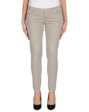 Джинсовые брюки OAKS. Цвет: серый