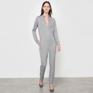 Комбинезон с брюками Isabelle Thomas x La Redoute. Цвет: серый