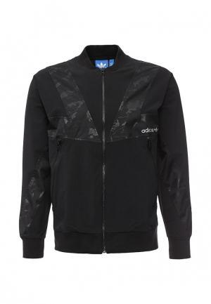 Куртка adidas Originals. Цвет: черный