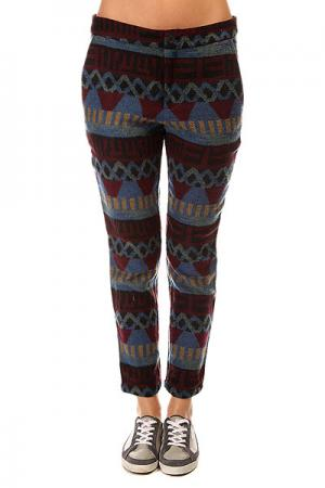 Штаны прямые женские  Geo Stripe Jacquard Pants Multi Insight. Цвет: мультиколор