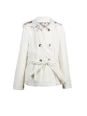 Куртка Bell bimbo. Цвет: молочный
