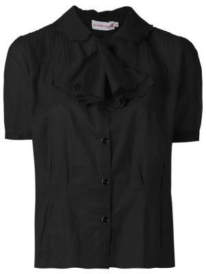 Pleated shirt Isabela Capeto. Цвет: чёрный
