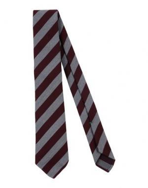 Галстук LUIGI BORRELLI NAPOLI. Цвет: красно-коричневый