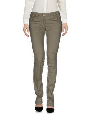 Повседневные брюки TAGLIA42. Цвет: серый