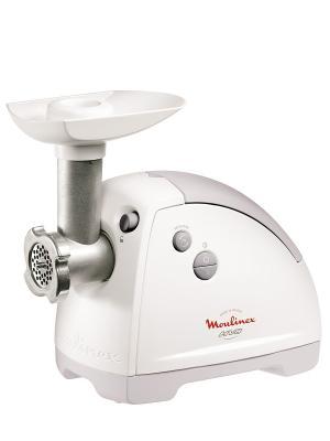 Мясорубка Moulinex ME620132 белый 2000Вт. Цвет: белый
