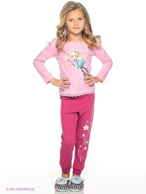 Пижама PELICAN. Цвет: розовый, фуксия