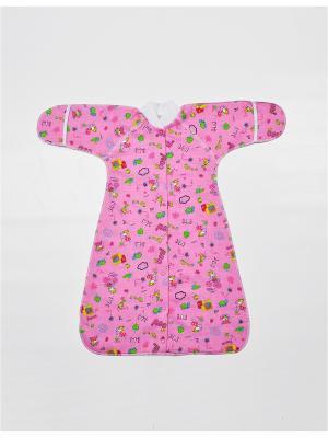 Спальный мешок VEAS. Цвет: розовый